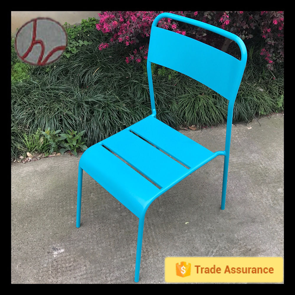The high quality morden blue iron metal relax chair