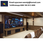 200inch projection screen with acoustically transparent fabric for home theater