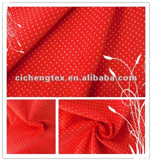 100%Cotton 21wales pigment dot print cheap spot baby pattern corduroy fabric