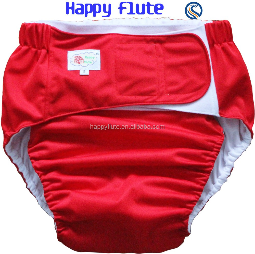 Happy Flute Reusable Washable Cloth Adult Diaper ...