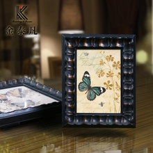 China custom wall printing glass painting art photo picture frame