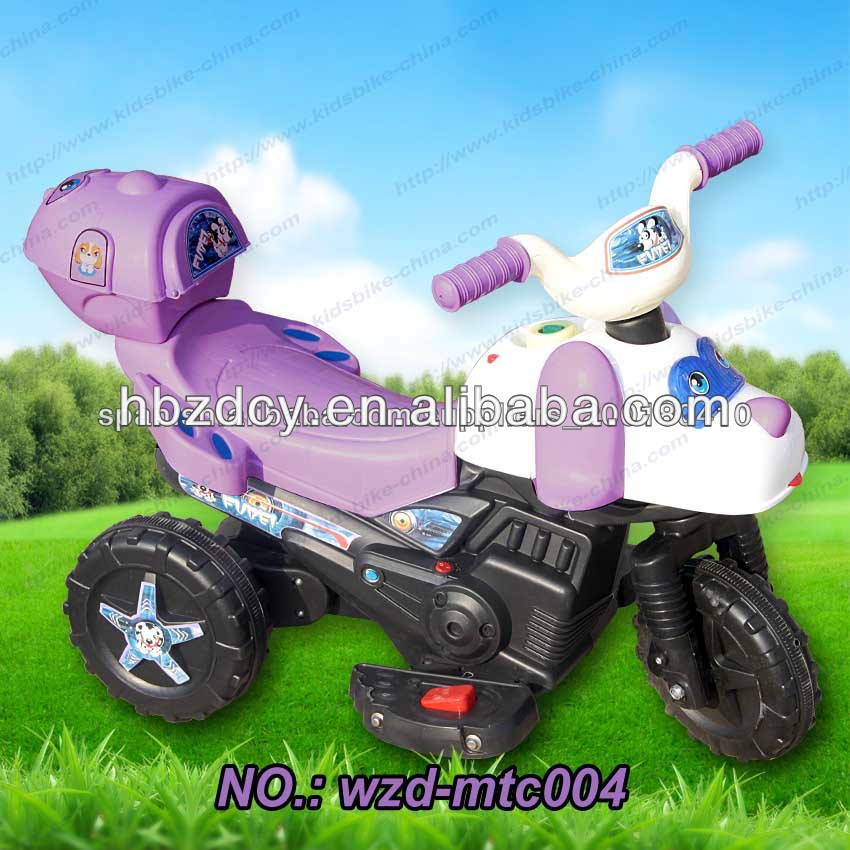 3 wheels kids ride on plastic motorcycle car