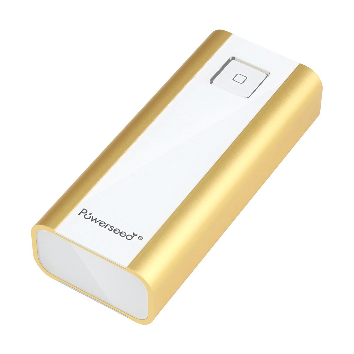 Powerseed Bank / Executive Pro PS4800 Gold Power Bank USB Portable Charger with LED flashlight for Samsung Galaxy S6, S5, Samsung Gear, Note 4, Apple Watch, iPhone 4, iPhone 5, iPhone 5S, iPhone 5C, iPhone 6, iPhone 6 Plus, Android Phones, iPad, Android Tablet, Windows Tablet, Go Pro Hero Camera,