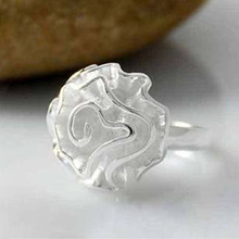 Temperament ladies stylish hibiscus flowers roses ring adjustable ring jewelry wholesale