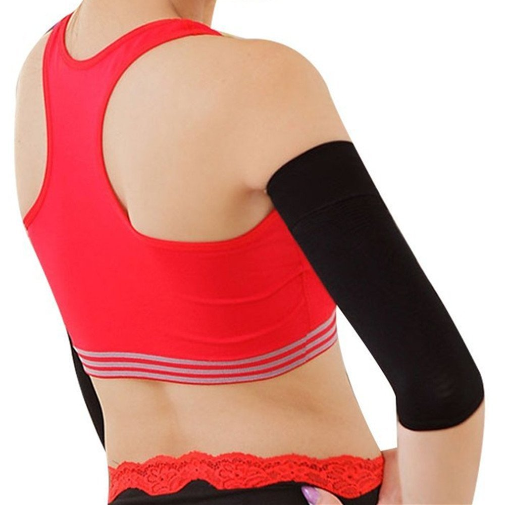 c5ac758fd6 Get Quotations · webueat 2 Pairs Slimming Shaper Compression Sleeve Weight  Loss Wrap Belt Set,1 Pair Arms