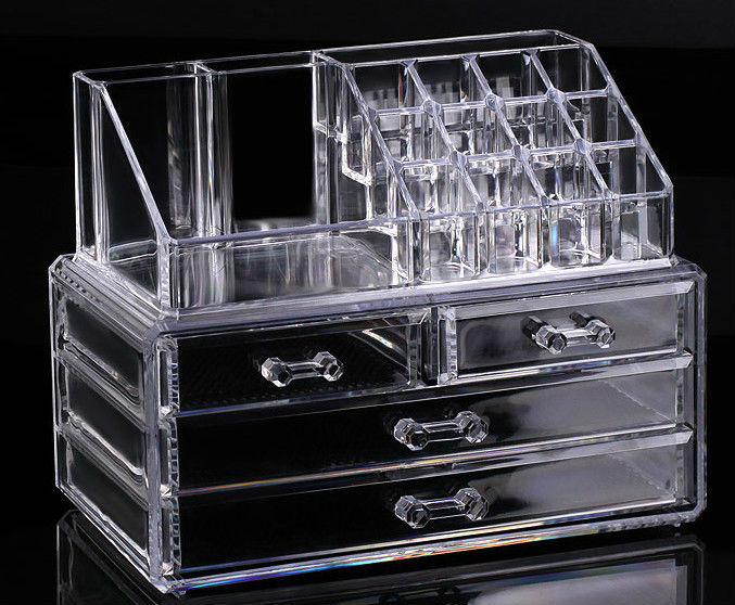 makeup organizer drawers walmart. cosmetic organizer makeup drawers display box/ acrylic clear cabinet case set - buy organizer,cosmetic holder in makeup,clear walmart d