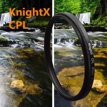 cpl Filter for Canon Nikon Sony DSLR SLR camera Lenses  49mm 52mm 55mm 58mm 62mm 67mm