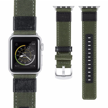 480d0850e For Apple Watch Band 38mm 42mm Soft Breathable Woven Nylon Replacement Sport  Loop Band for Apple