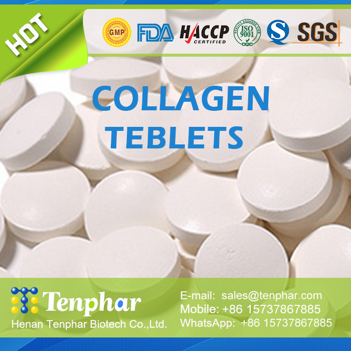 Keeping Young Natural Fish Collagen Supplements Tablet
