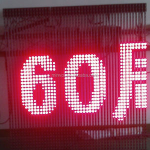 LED Bar Strip Screen display Media Screen for Company logo sign display or  decoration