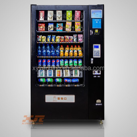 Snack & Cold Drink Combo Vending Machine,Magazine,Fruit&commodity ...