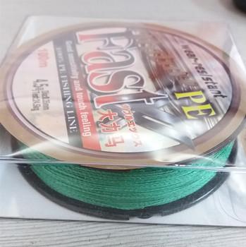 China Manufacture High Strength Nylon Braided Fishing Line