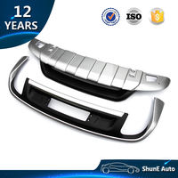 ABS Front and Rear Skid Plate For Volkswagen Touareg 2011-2015 2016+ Bumper guard Cover Auto accessories