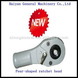 Pear-shaped ratchet head with wrench wholesales
