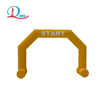 Outdoor running inflatable arch model