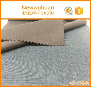 cheap high quality twill shiny dyeing tr men's suit fabric for business suit