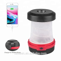 3W solar camping lantern rechargeable led lamp