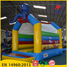 Airpark High Quality Kids Jumping Mini Trampoline Outdoor Castle Inflatable Bouncer House for Sale