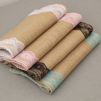 Country Style Wedding Centerpieces Beautiful Reception Table Decoration Rustic Burlap Lace Table Runners Buy Table Runners Reception Table