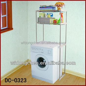 Metal Shelf For Washing Machine Storage Rack