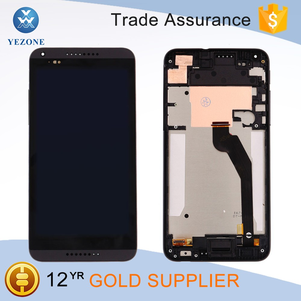 China Mobile Lcd Replacement for HTC Desire 816 Lcd Touch Screen with Frame