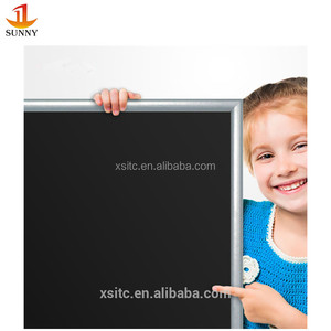 Wall mounted home use wooden frame chalkboard blackboard