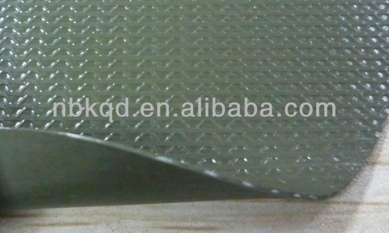 24.6oz Waterproof PVC Laminated Fabric/ High Quality PVC Fabric with 500D Warp Knitting Polyester