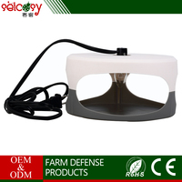 Eco-Friendly Non-poisonous Plugs into any standard household outlet flea trap light