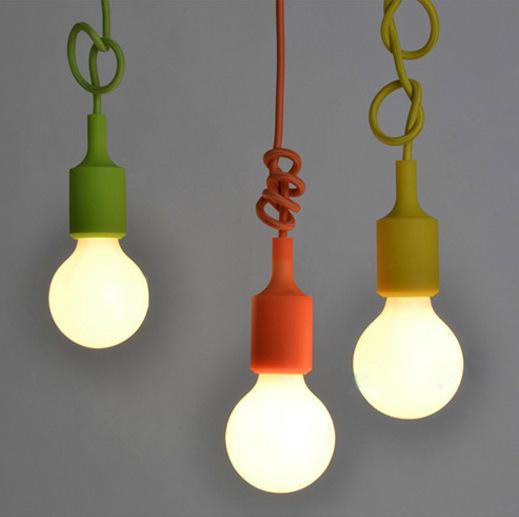 3 pcs e27 e26 prise pedent lampe luminaire suspendu color e ampoule socket no ampoule pour. Black Bedroom Furniture Sets. Home Design Ideas