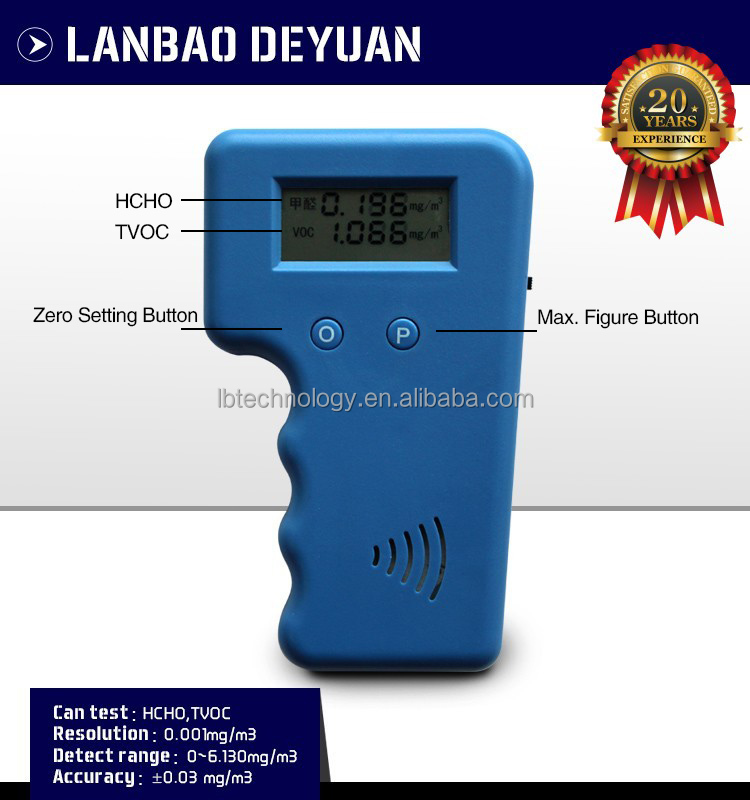 Manufacturer Price Electrochemical Portable Home VOC Meter