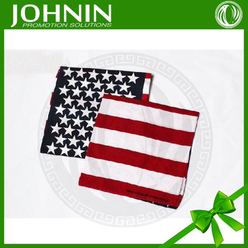High quality customize size digital printing world flag bandana
