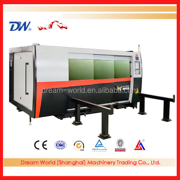 water cooler cnc fiber laser metal cutting machine price with IPG Laser Resonator