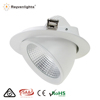 New design CCT adjustable cob led downlight 90 degree 20w led scoopl downlight