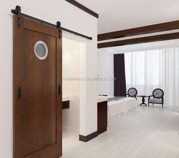 Hotel Salle De Bain Porte Coulissante Avec Fenetre Ronde Avec