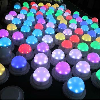 Color Change 7.5v Led Button Battery Lights