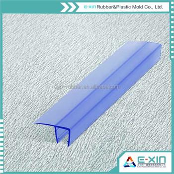 Shower Transparent Pvc Profile Shower Door Seal Anti Aging Pvc