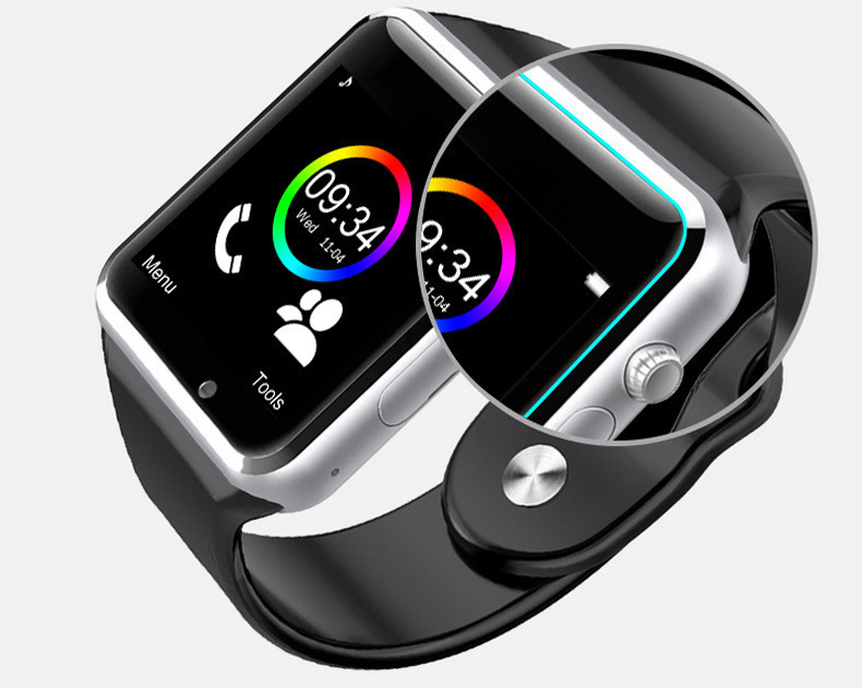 Wholesale Hot Selling High Quality Camera A1 Smart Watch A1 BT Smart Watch for Mobile Phone