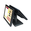 skillful manufacture 15 inch dual touch screen monitor for POS system display