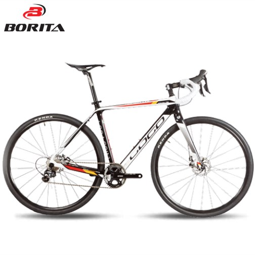 Borita 700C Super Light Carbon Fork Aluminum alloy Road bike