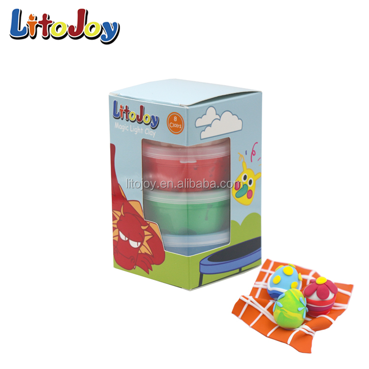 For Baby Kids Developmental Toys Plasticine Ultra-Light Clay Handprints Clays