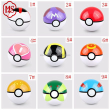 The biggest factory in China for pokeballs Cheapest Price 7cm pokemon ball with toys inside it pokeball toys