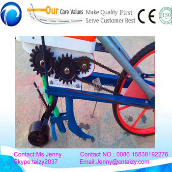 2 Row Corn Planter Best Selling Bean Planter Hand Push Onion Seeder