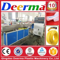 complete line soft pvc trancparent garden hose pipe machine