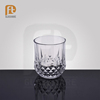 Clear cut soda-lime glass tumbler new design crystal whiskey glass/ whinsky glass cup