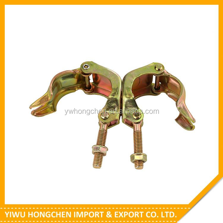 Top selling different types scaffolding fittings forged coupler 2016