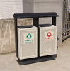 Arlau Galvanized Steel Garbage Container,Metal Bin