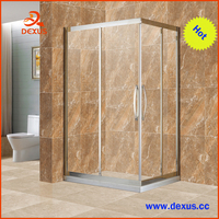 China Stainless Steel Frame Home Glass Room For Shower