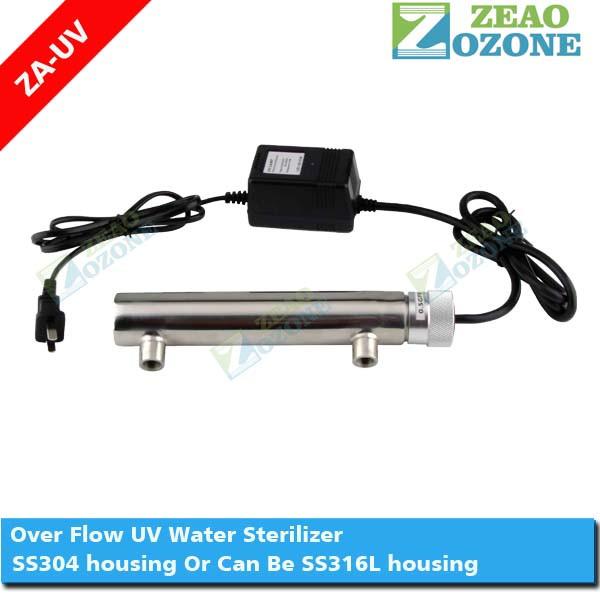 trinkwasser uv lampe wasser sterilisator 40 watt 12gpm uv desinfektion wasseraufbereitung. Black Bedroom Furniture Sets. Home Design Ideas