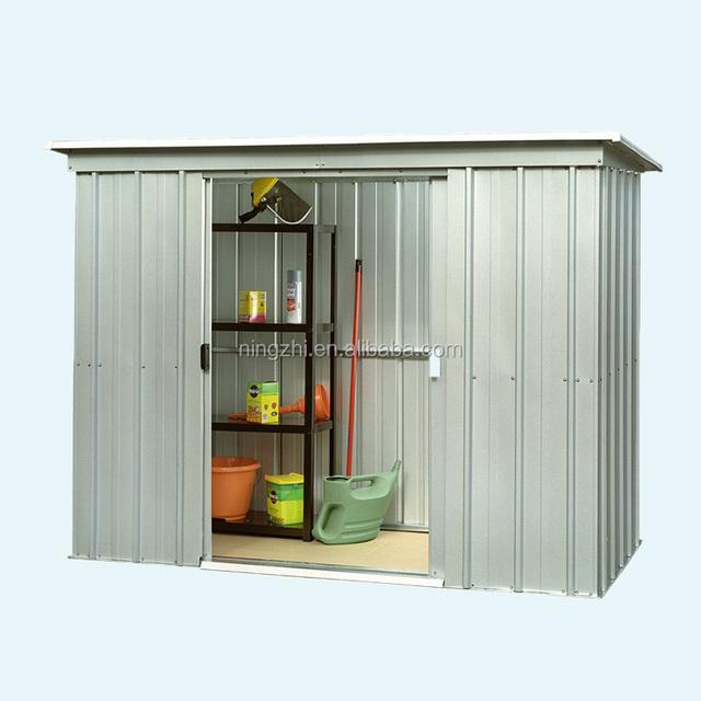 metal garden still shed 3x24m for storage