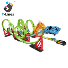 Timeline Track Slot car race track whistle for racing game